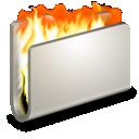 burn, fire, folder