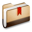 folder, library icon
