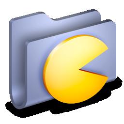 folder, games icon