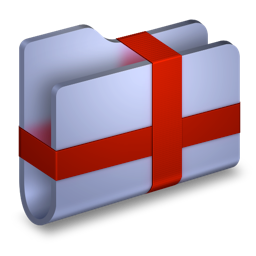 folder, package icon