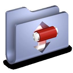 folder, torrents, transmit icon