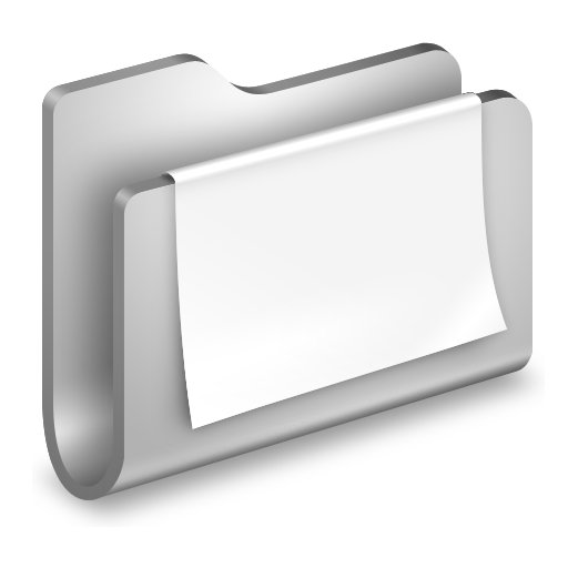 documents, folder, paper icon