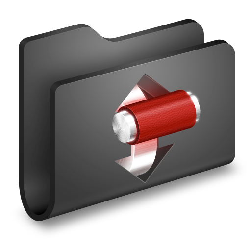 folder, torrents icon
