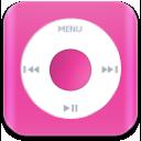 music, nano, pink icon