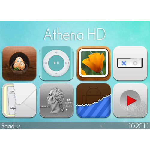 athena, final, hd icon