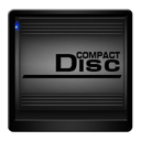 compact, disc, drive icon