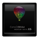 corel, draw icon