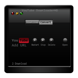 downloader, youtube icon