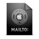 location, mailto icon