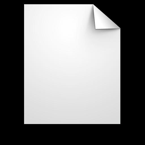 document, generic, white icon