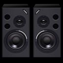 active, alesis, m, mk, speakers icon
