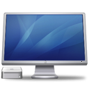 cinema, display, macminiblue icon
