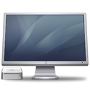 cinema, display, macminigraphite icon
