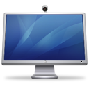 blue, cinema, display, isight icon