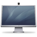 cinema, display, graphite, isight icon