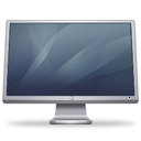 cinema, display, graphite icon
