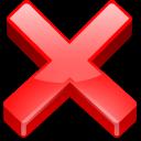cancel, close, cross, delete, exit, fermer, no, non, none, remove icon