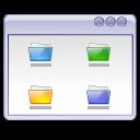 Folders, user interface, window icon
