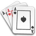 ace of spades, cards, gambling, poker icon