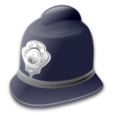 custodian, hat, helmet icon
