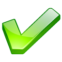 accept, check, check mark, checkmark, good, green, ok, yes icon