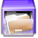 cabinet, folders icon
