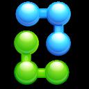 atom, ball, balls, bend, join, joint, kfouleggs icon