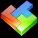 computer game, tetris icon