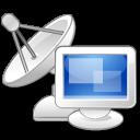computer, monitor, signal icon