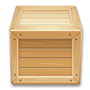 box, dropbox, inventory, lol, shipment, wood icon