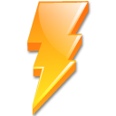 lightning, power, zap icon