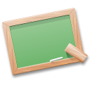 black board, learn, school, table, teach, tutorials icon