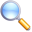find, goggle, magnifying glass, search, zoom icon