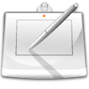 digitizer, draw, hardware, tablet icon
