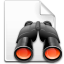 binoculars, file, find, search icon