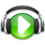 headphones, itunes, music, play, store icon