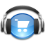 music, store icon