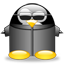 neotux, penguin icon