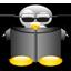 neotux, penguin icon