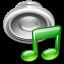 music, play, sound, speaker icon