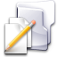 documents, folder, pen, write icon