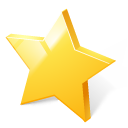 bookmark, rate, rating, star, toolbar icon