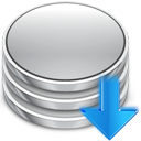 arrow, database, update icon