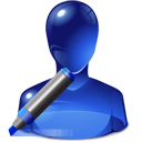 edit, marker, user icon