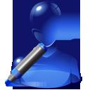 edit, marker, user