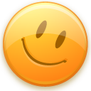 emoticon, good, happy, smiley icon