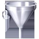filter, funnel