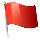 flag, red