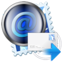 forward, mail, post icon