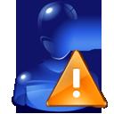 alert, attention, user, warning